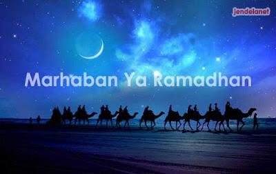 BERDOALAH MENYAMBUT RAMADHAN..