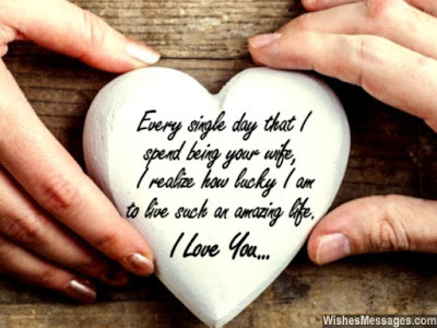 Love Quotes about husband: every single day that i spend being your wife,