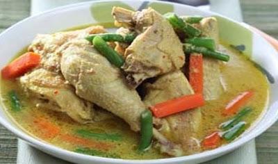 Resep Membuat Opor Ayam Yang Lezat dan Nikmat