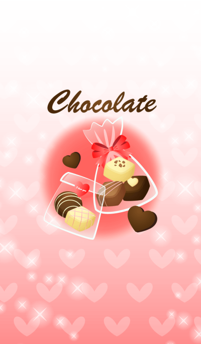 Valentine's chocolate Red1