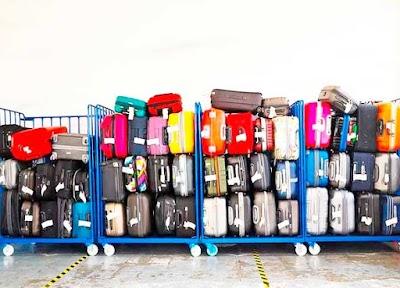 Plantilla Etiqueta doble para Identificar nuestro equipaje