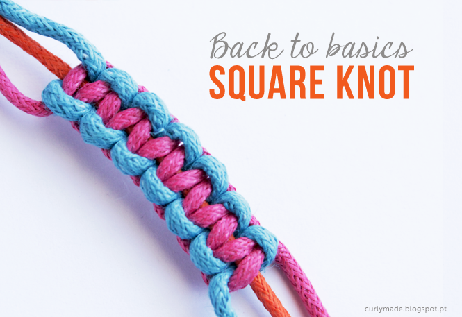 how to make a square knot bracelet back to basics how to make a square knot curly made 4657