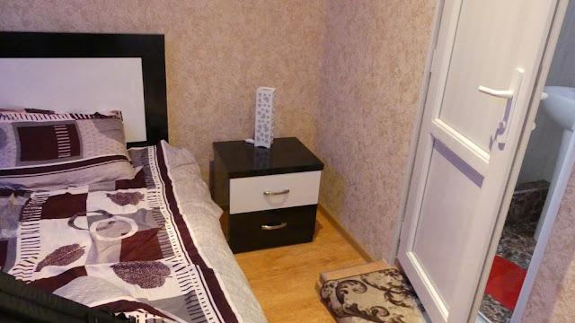 Mein Zimmer im Hotel Mkudro, Kutaissi