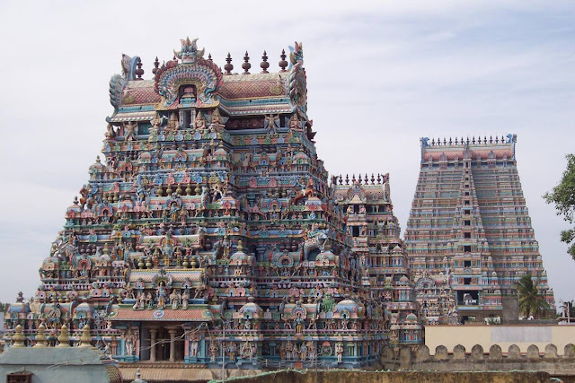 voyage trichy srirangam temple en Tamil nadu en Inde du sud