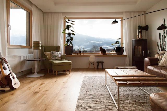 neue Vorhänge für unser Sitzfenster im Wohnzimmer