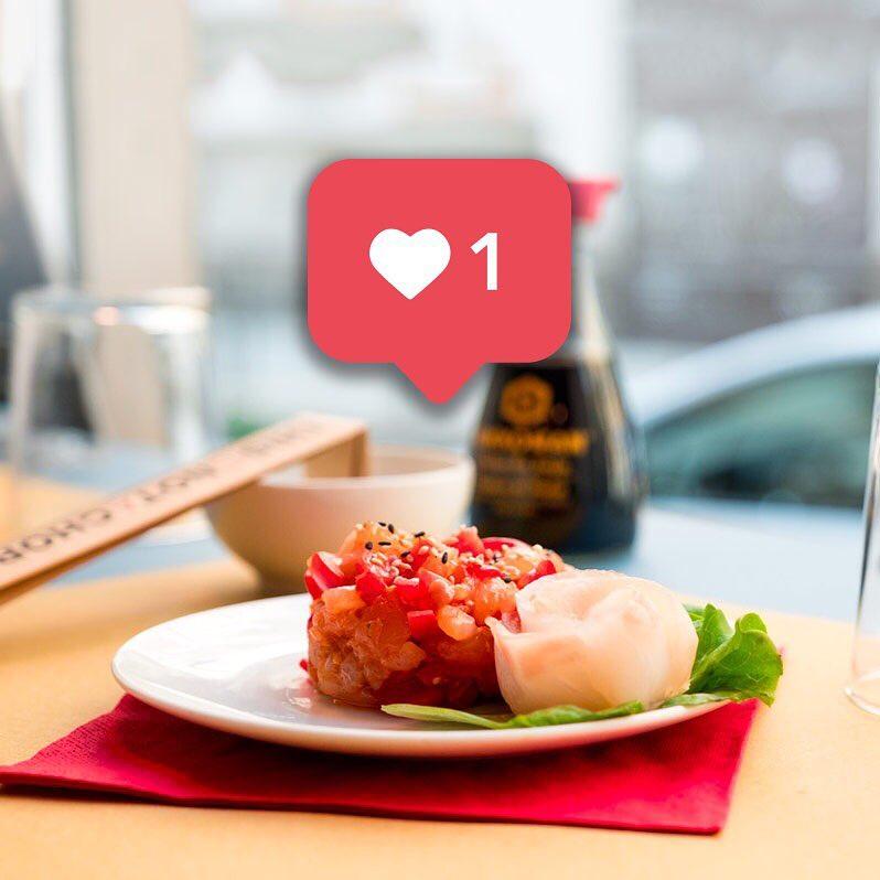 instagram, Not a Sushi Bar