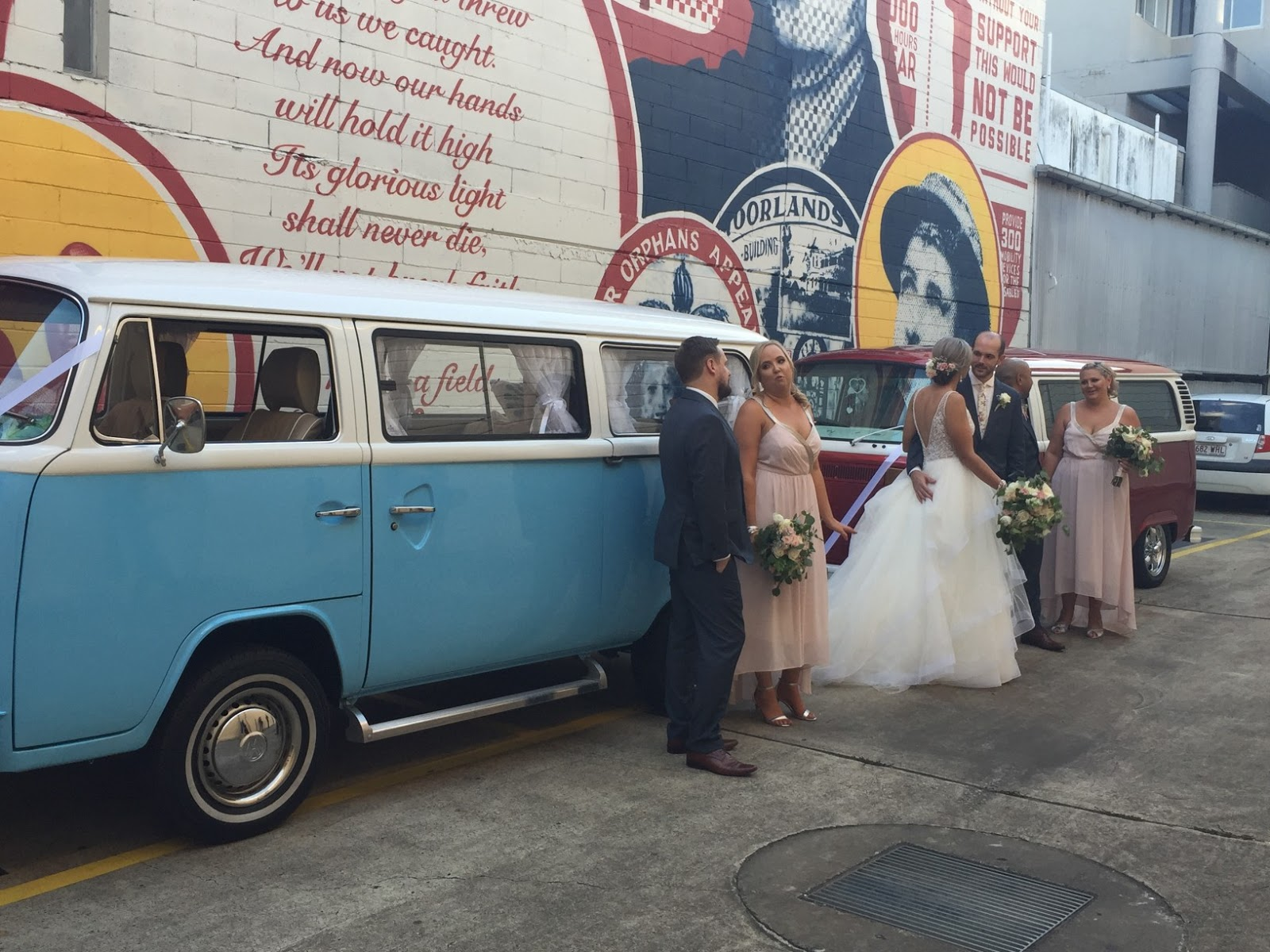 WEDDING TRANSPORT GOLD COAST VW HIRE
