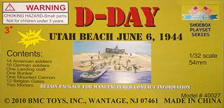 BMC Toys D-Day Utah Beach Playset