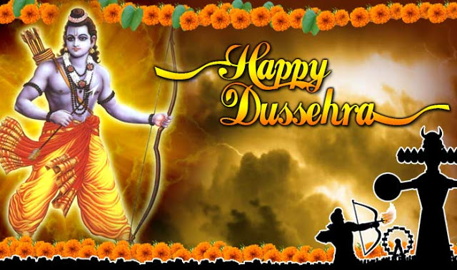 Happy Dussehra Wishes - SMS, Quotes in Hindi