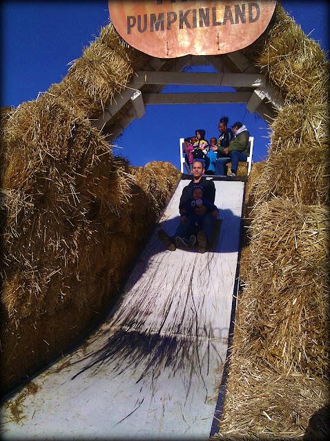 hay slide