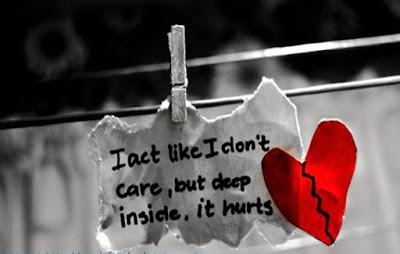 Broken Heart Dp Whatsapp