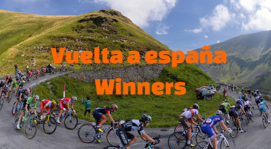 Vuelta a España-espana,  Past Winners champions,  List  .