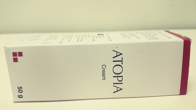 atopia cream, moisturizer, packaging, review, beauty, dry skin, india