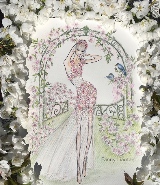 FANNY LIAUTARD dessin collection robe de mariée