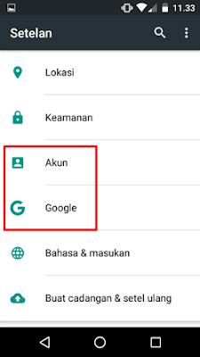 Cara ganti nama email Gmail Android 1