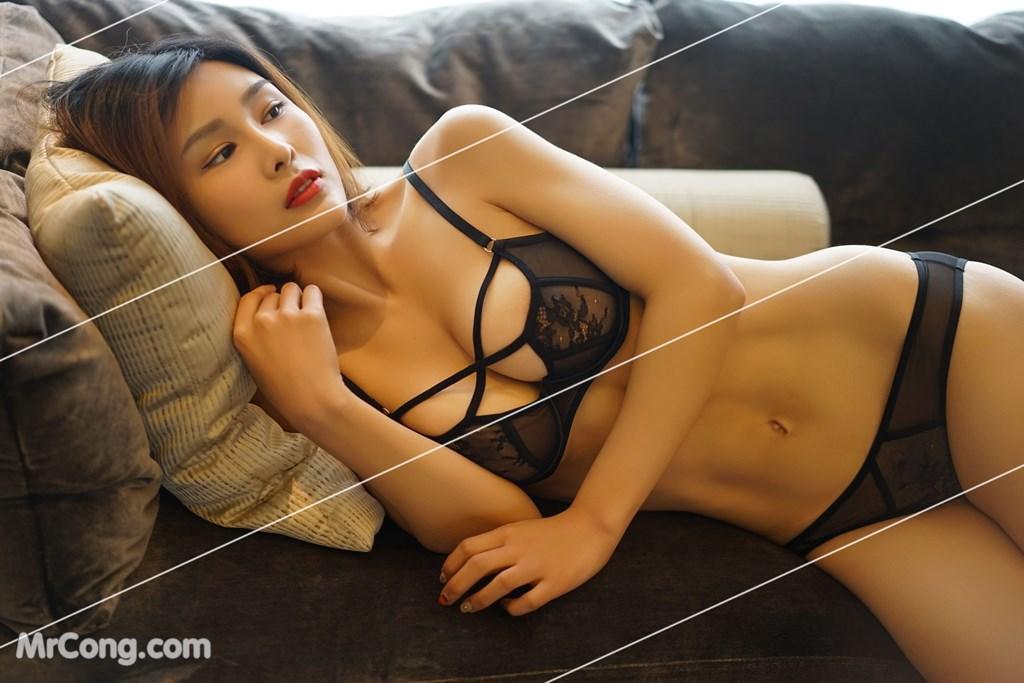 Image Yan-Pan-Pan-Part-3-MrCong.com-010 in post Ngắm vòng một siêu gợi cảm với nội y của người đẹp Yan Pan Pan (闫盼盼) (51 ảnh)