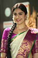 Adah Sharma looks super cute in Saree at IIFA Utsavam Awards 010.JPG