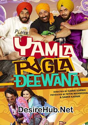 Yamla Pagla Deewana (2011) Hindi 720p HDRip – 1GB