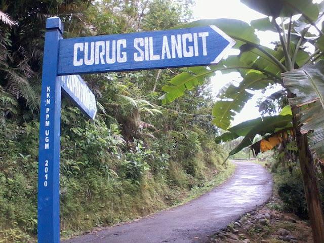 Mudik Jangan Lupa Kunjungi Curug Silangit Di Desa Somongari!