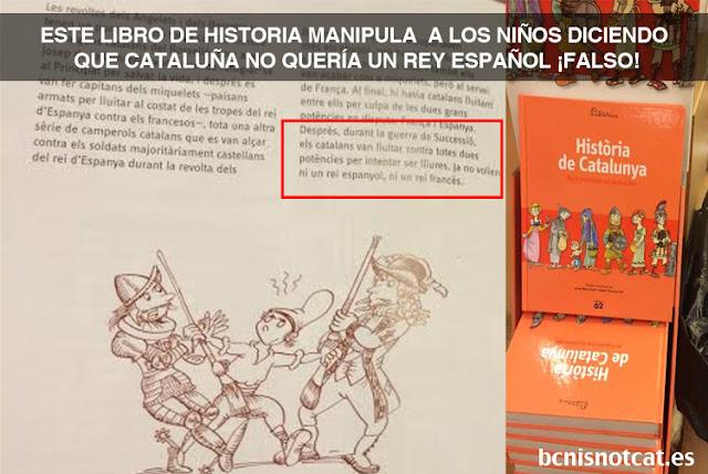Manipulación infantil en Cataluña.