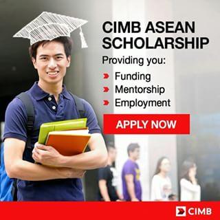 Pendaftaran Beasiswa Penuh CIMB Asean Sholarship 2016
