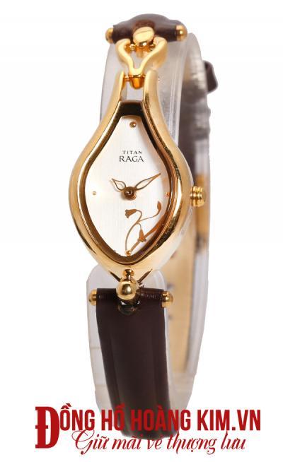 đồng hồ quai da nữ bán chạy