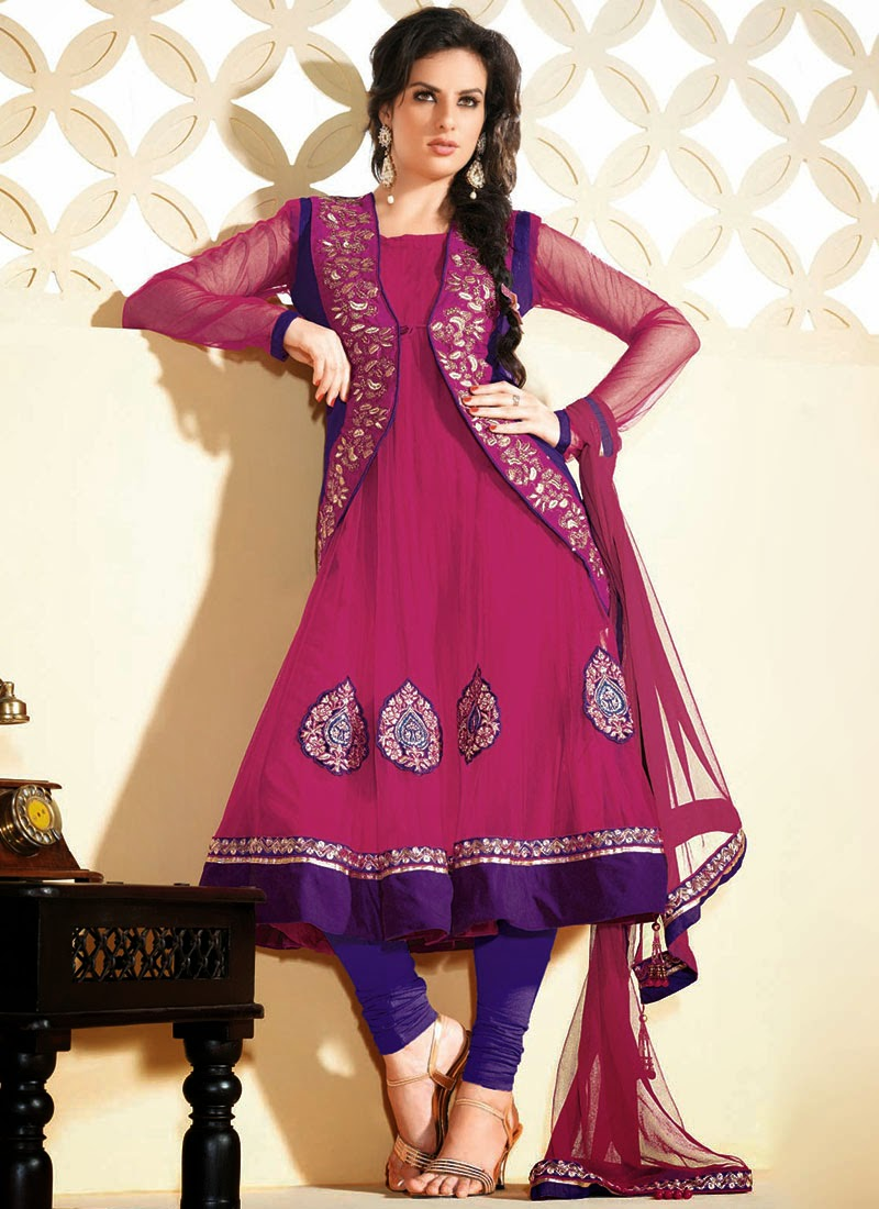 Pakistani Salwar Kameez New Design's Photos 2014
