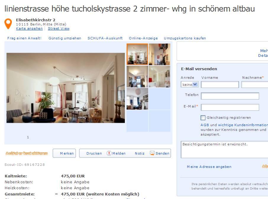 anzeige kosten immobilienscout24