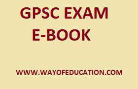 GPSC EXAM BEST PDF E-BOOK