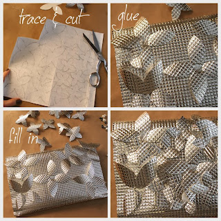 Folyo Kağıttan Çanta Süsleme Yapımı