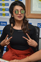 Tejaswini Madivada backstage pics at 92.7 Big FM Studio Exclusive  31.JPG