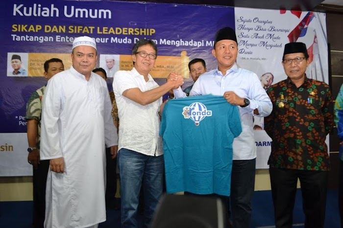 Wujudkan SiKam Smart Nitizen Lampung Tengah, Mustafa Gandeng Darmajaya