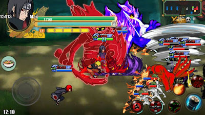 Naruto Senki MOD Full Characters Unlimited Money Storm 3 v1 Apk Android Terbaru
