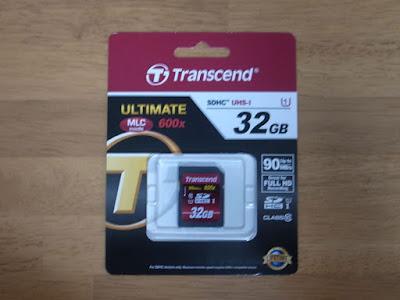 Transcend UHS-I対応 クラス10 SDHCカード 32GB