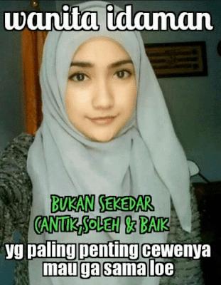 10 Meme Kocak 'Wanita Idaman' Ini Bikin Jomblo Pecah Ketuban