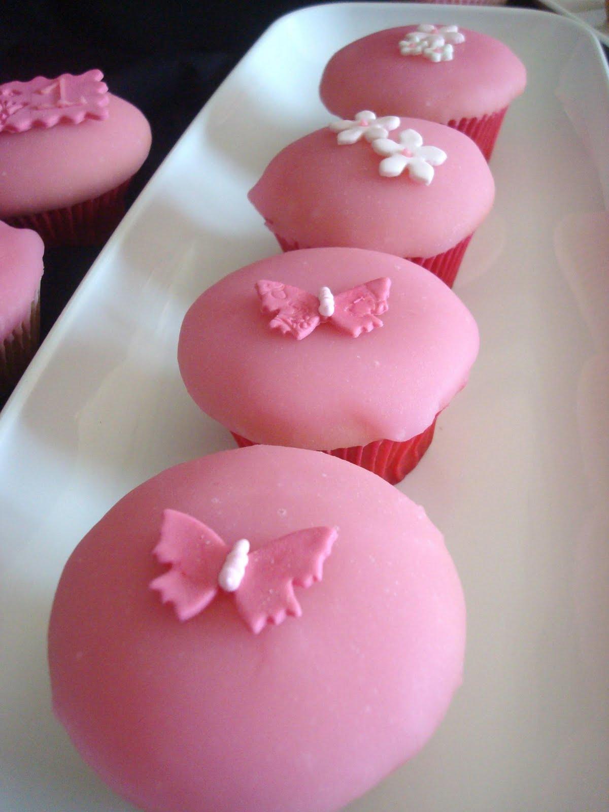Pink Little Cake Cupcakes Spring Birthday Party And A