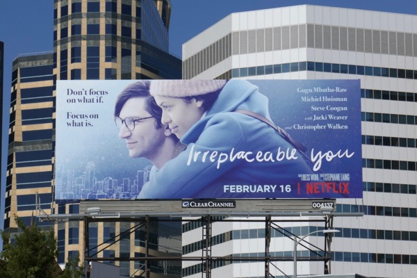 Irreplaceable You film billboard