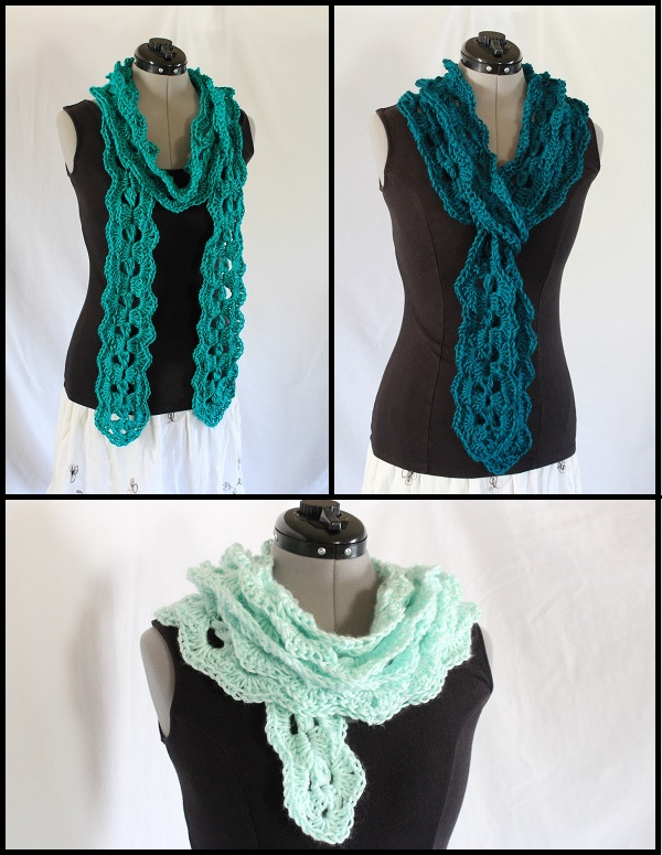 crochet, pattern, scarf, Ravelry, for-sale, free gift, Caron Simply Soft