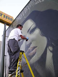 Arte Urbano rostro de mujer