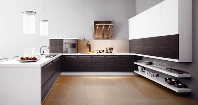 kitchen set minimalis mungil mewah