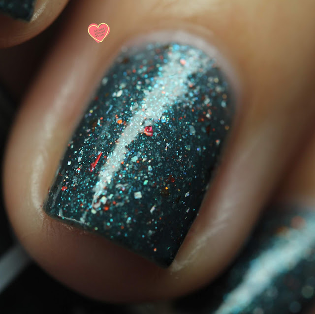 Dollish Polish Aegaeon swatch by Streets Ahead Style