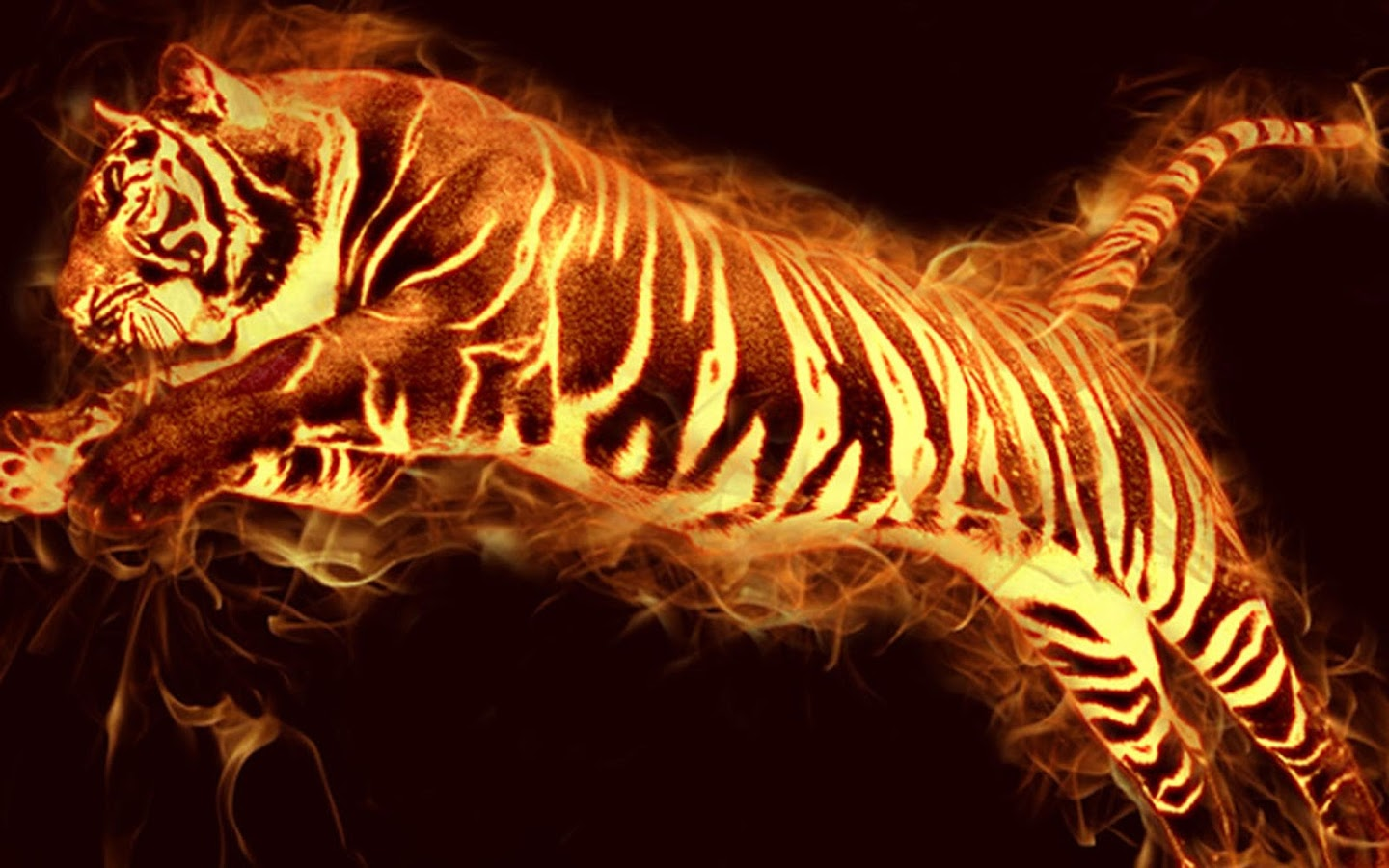 Tigre 3d 1920x1080 fonds d 39 cran hd for Fond ecran 3d