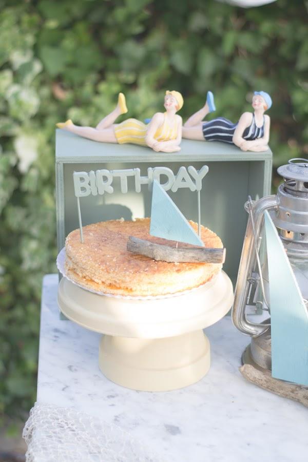 Cumpleaños infantil fiesta marinera