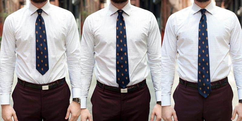 Largo Corbata Correcto La Distinción Clase Y Elegancia De El U1xwIq