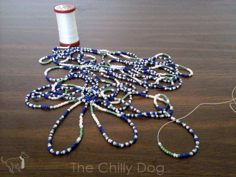 Crafter Thoughts Bead Crochet The Chilly Dog