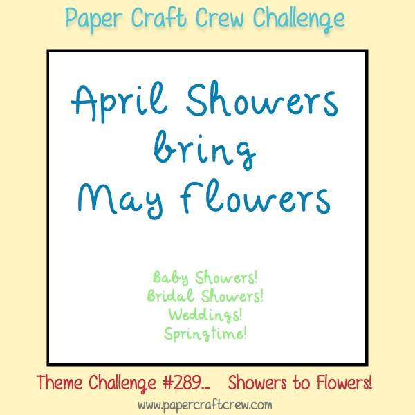 The Theme Is April Showers Bring May Flowers Which Can Be About Baby Bridal Weddings Springtime And Even Rain