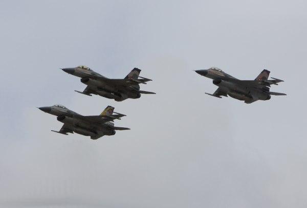 Formación de F-16 Venezolanos