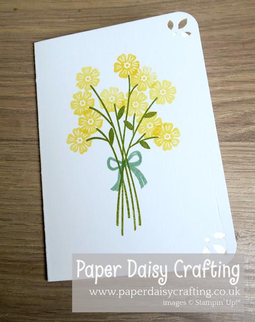 Beautiful Bouquet beginner card Stampin' Up!
