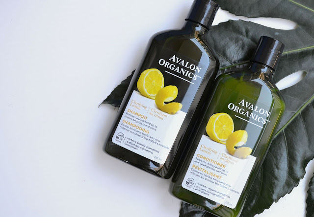 Avalon Organics Clarifying Shampoo and Conditioner