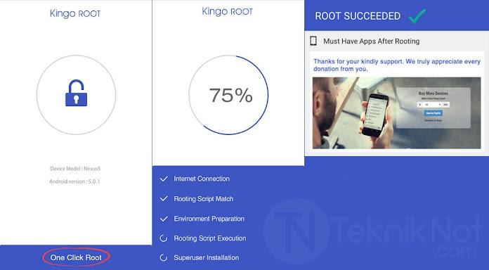 Kingo Android ROOT Yapma